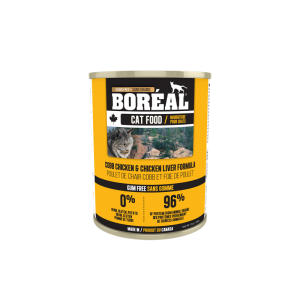 Boréal Cobb Chicken / Chicken Liver Formula Canned Cat Food 369g