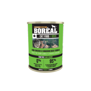 Boréal Cobb Chicken / Canadian Duck Formula Canned Cat Food 369g