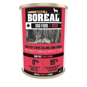 Boréal  Angus    Beef New Zealand Lamb Formula Canned Dog Food 369 G