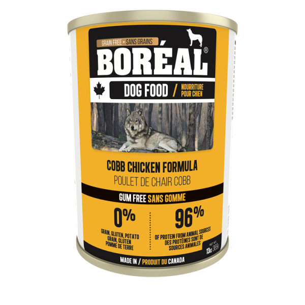 Boréal Cobb Chicken Formula    Canned Dog Food 369 G