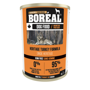 Boréal Heritage Turkey Formula Canned Dog Food 369 G