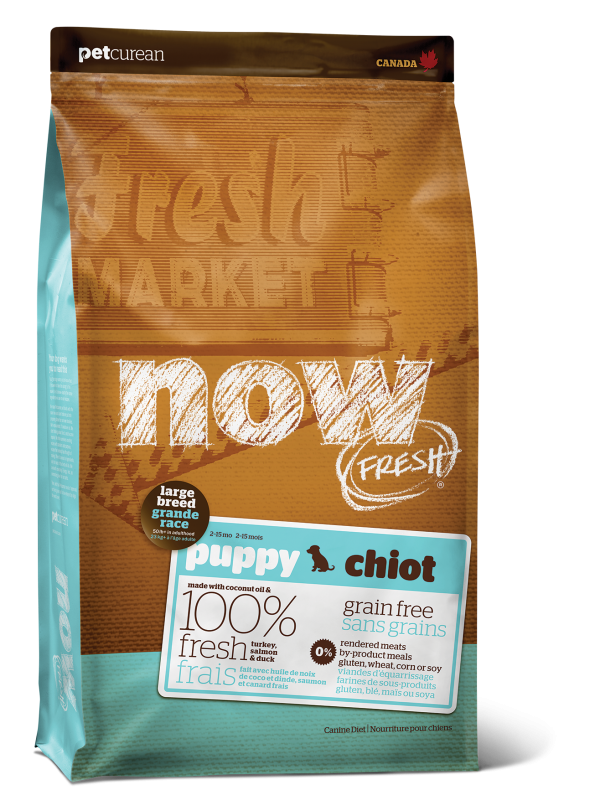 NOW FRESH Grain Free Large Breed Puppy Recipe