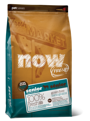 NOW FRESH Grain Free Large Breed Senior Recipe for dogs