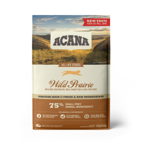 ACANA Wild Prairie cat food - Protein-rich - 5.4kg