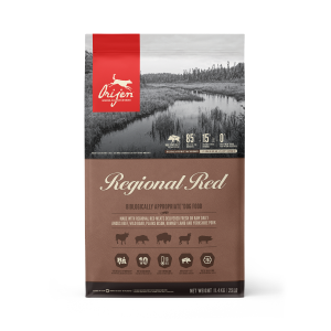 ORIJEN Regional Red dog food - Biologically Appropriate - 11.4kg
