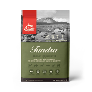 ORIJEN Tundra cat food - Biologically Appropriate - 5.4g