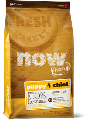 Now Fresh Grain Free Puppy Dog Food Recipe
