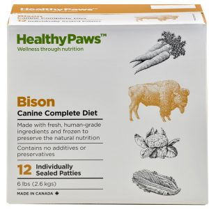 Canine Complete Diet Bison
