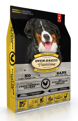 Oven Baked Tradition Large Breed Adult Food 25lbs