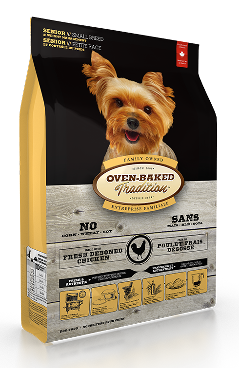 Oven Baked Tradition Senior Small Breed Food (Small) 2lb