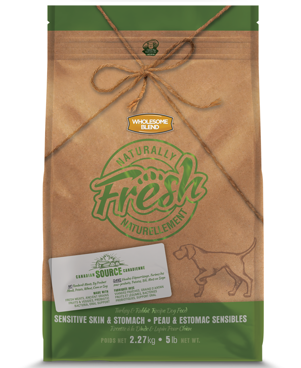 Wholesome Blend® Dogs Naturally Fresh Turkey & Rabbit Sensitive Skin & Stomach 13kg