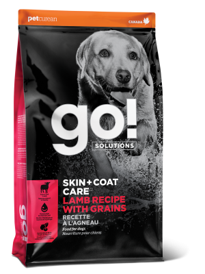 GO! SKIN + COAT CARE Lamb Recipe for dogs  25 lb