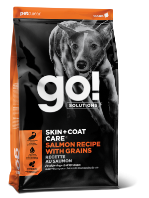 GO! SKIN + COAT CARE Salmon Recipe for dogs  25 lb