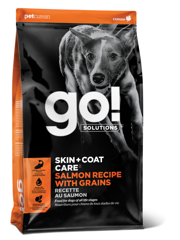 GO! SKIN + COAT CARE Salmon Recipe for dogs  25 lb