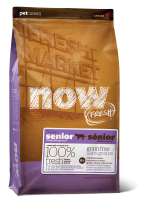 NOW FRESH Grain Free Senior Recipe for cats 16 lb