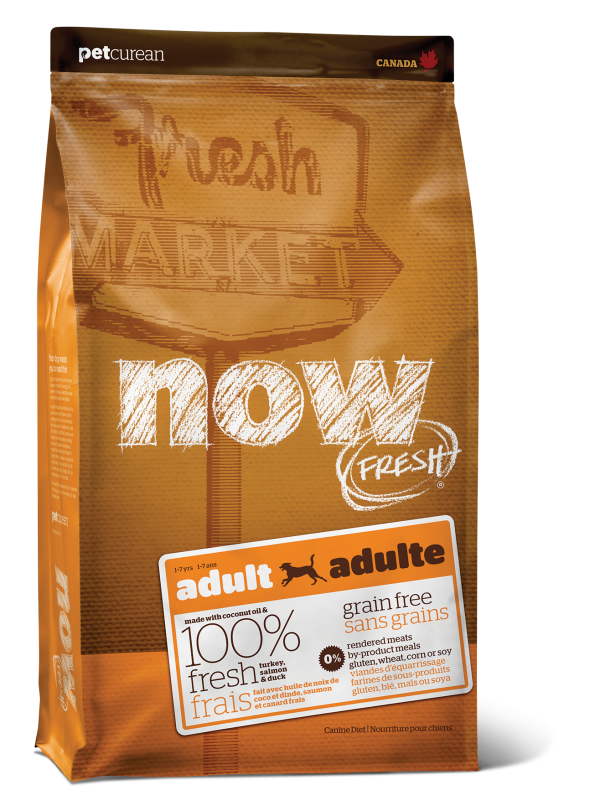 NOW FRESH Grain Free Adult Recipe for dogs 25 lb