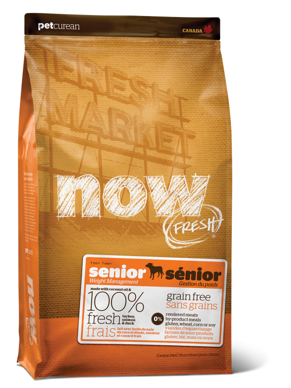 NOW FRESH Grain Free Senior Recipe for dogs 25 lb