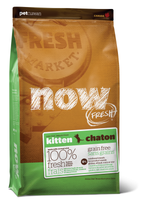 NOW FRESH Grain Free Kitten Recipe 8 lb