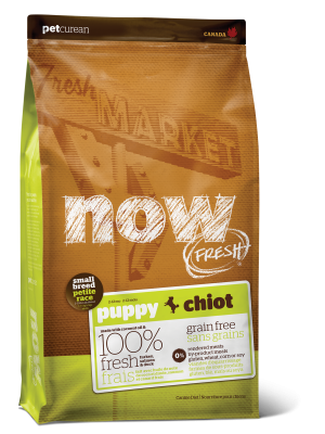 NOW FRESH Grain Free Small Breed Puppy Recipe   25 lb