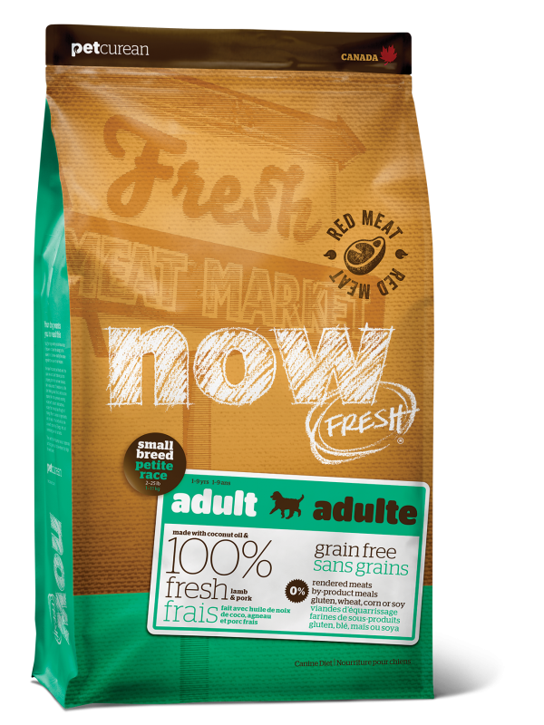 NOW FRESH Grain Free Small Breed Red Meat Adult Recipe for dogs 25 lb