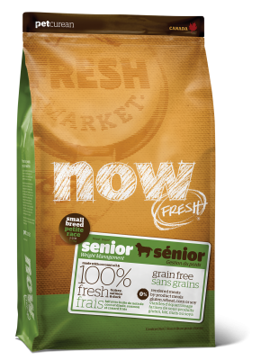 NOW FRESH Grain Free Small Breed Senior Recipe for dogs  25 lb