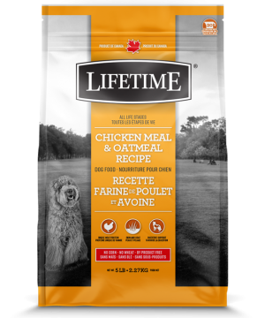 LIFETIME® Dogs Chicken & Oatmeal Recipe 11.4kg