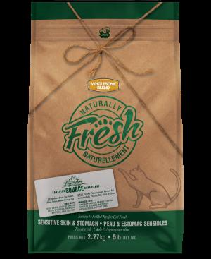 Wholesome Blend® Cats Naturally Fresh Turkey & Rabbit Sensitive Skin & Stomach 5kg