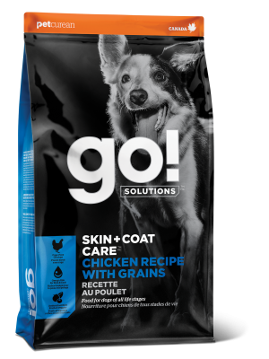 GO! SKIN + COAT CARE Chicken Recipe for dogs  25 lb
