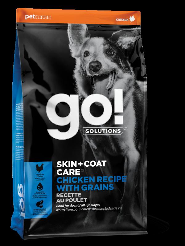 GO! SKIN + COAT CARE Chicken Recipe for dogs  25 lb