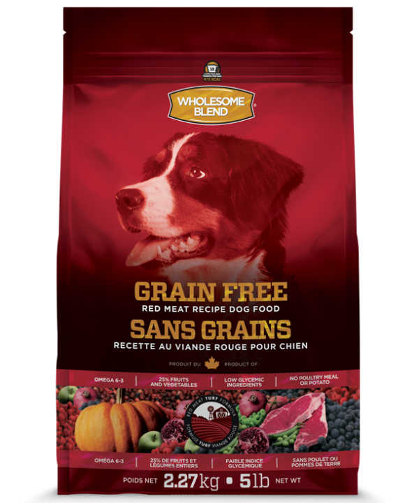 Wholesome Blend® Dogs Grain Free Red Meat 11.36kg