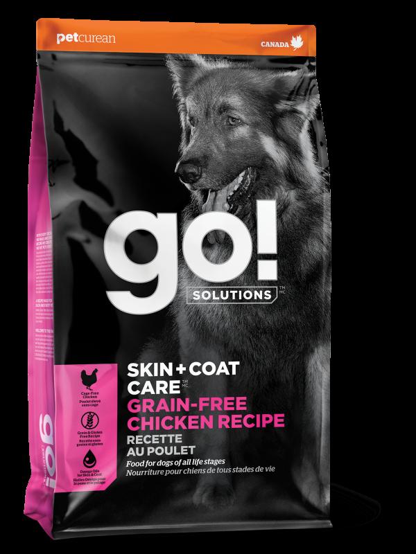 GO! SKIN + COAT CARE Grain Free Chicken Recipe for dogs 25 lb