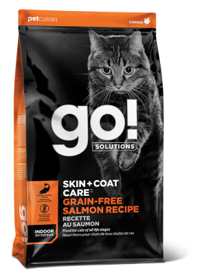 GO! SKIN + COAT CARE Grain Free Salmon Recipe for cats 16 lb