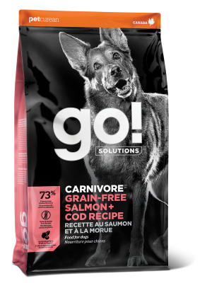 GO! CARNIVORE Grain Free Salmon + Cod Recipe for dogs