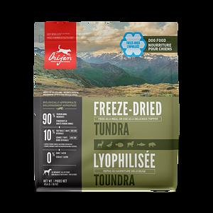 ORIJEN Tundra freeze-dried dog food - Biologically Appropriate - 454g